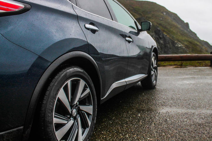 nissan murano first drive review rims