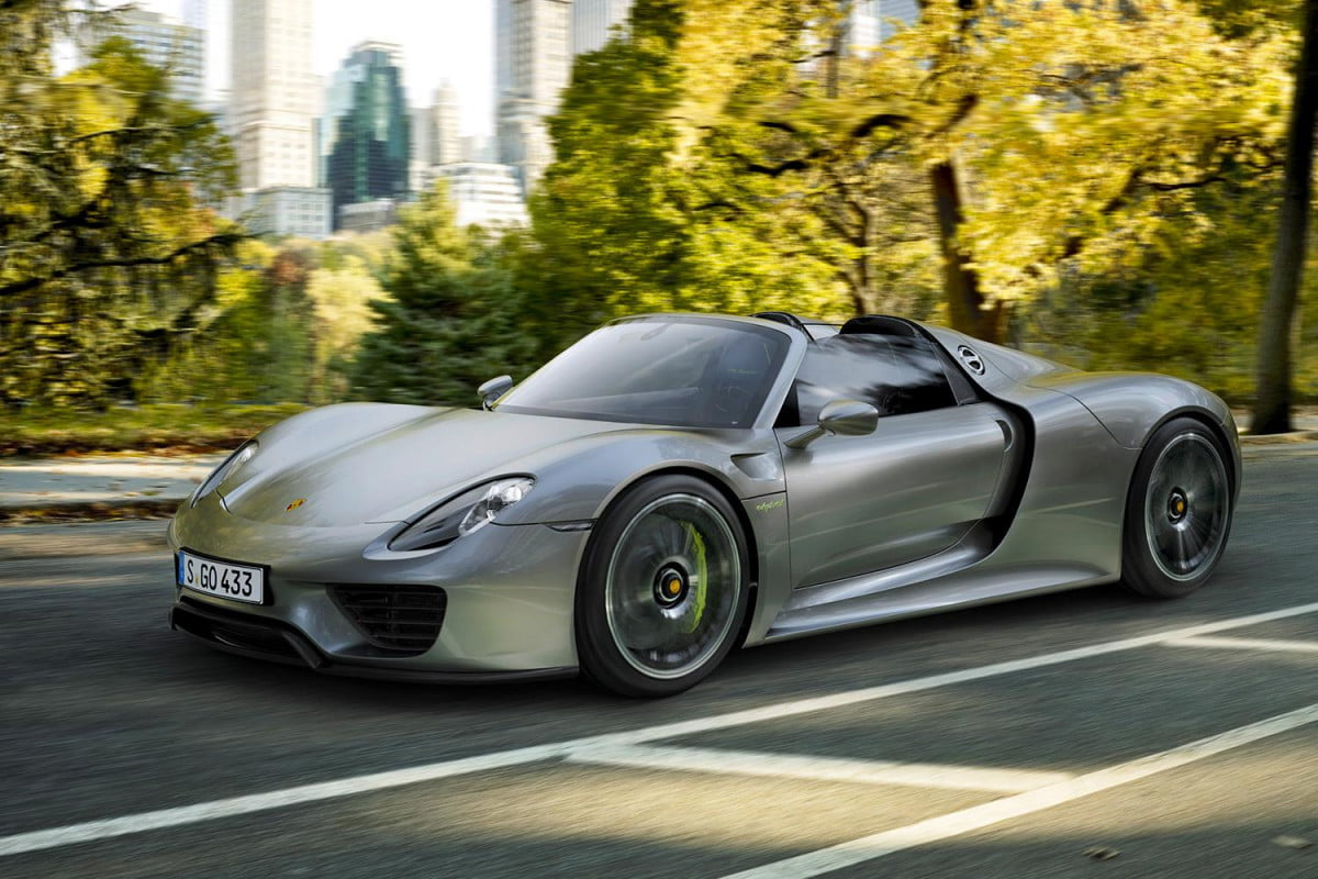 top  trends at the frankfurt motor show porsche spyder