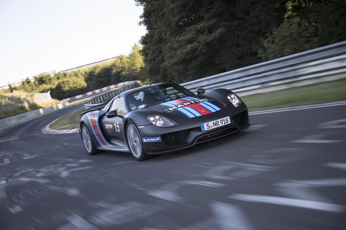 nurburgring officials may lift speed limit ban for automakers  porsche spyder