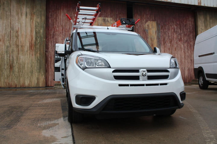 ram promaster city first drive front angled