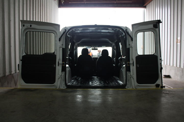ram promaster city first drive loading dock