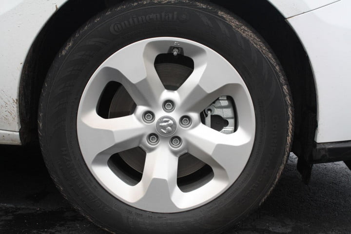 ram promaster city first drive tire
