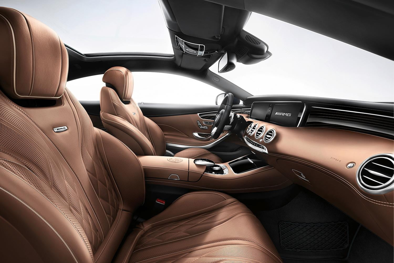 2015 mercedes benz s65 amg coupe digital trends for Interieur 65