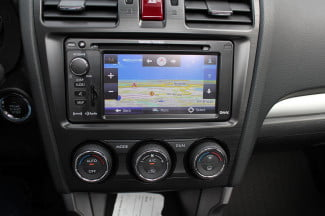 2015 Subaur Forester XT center console