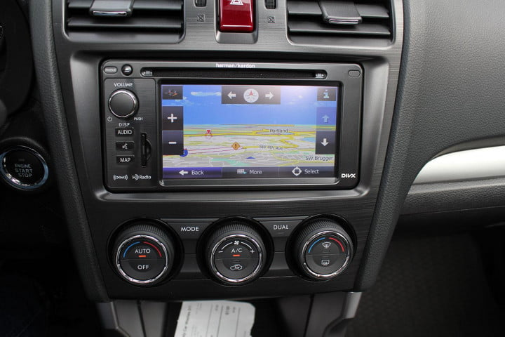 subaru forester xt review subaur center console