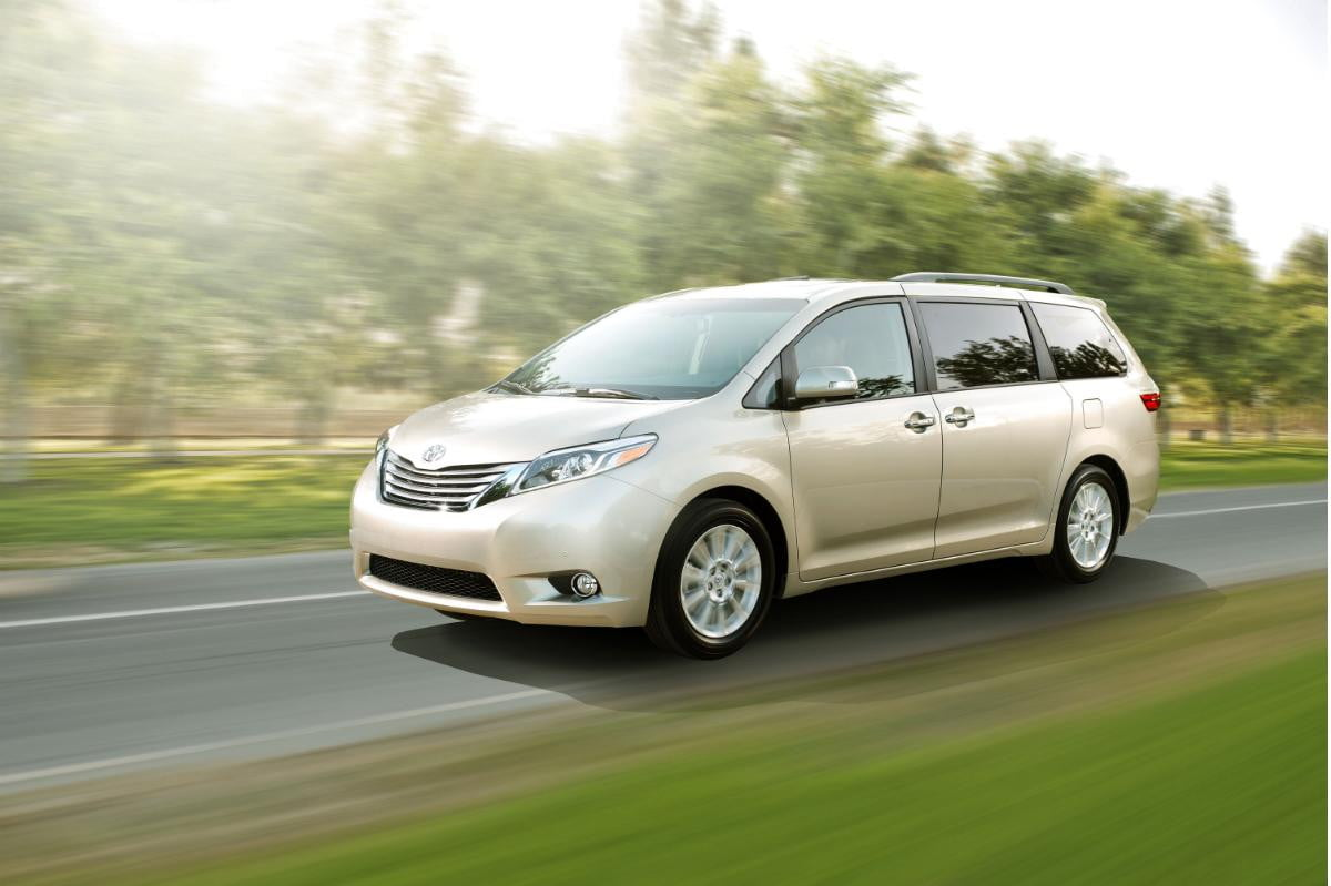 toyota sienna makes easier parents yell kids back