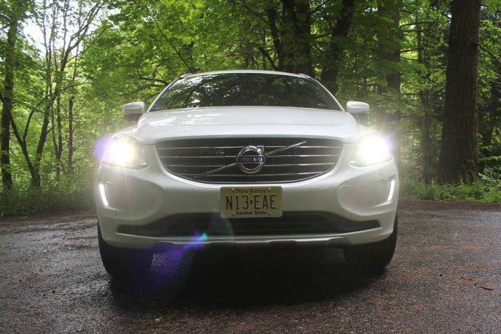 volvo xc review front headlights