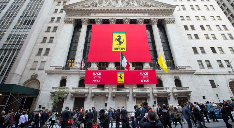 Ferrari Raises 893 Million With First Public Stock Offering Digital Trends