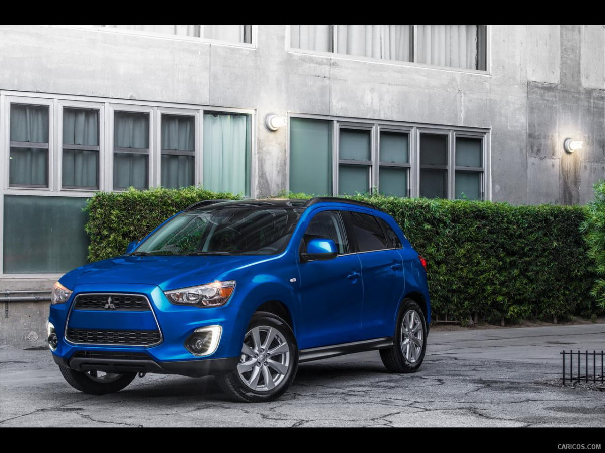 mitsubishi will end u s production news  outlander sport front angle