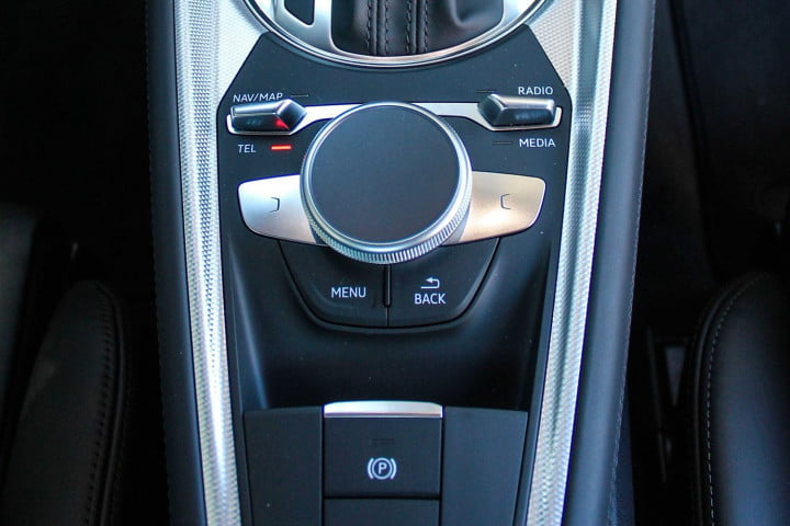 audi tt coupe and roadster first drive center dial