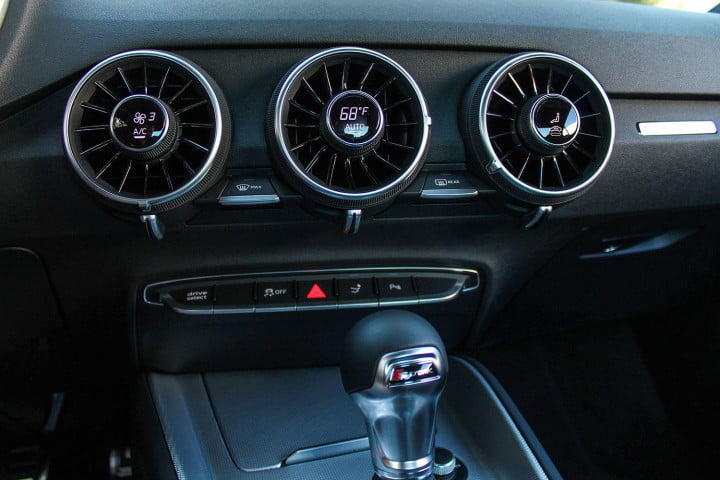 audi tt coupe and roadster first drive interior center console