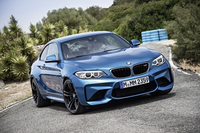 bmw core models to go hybrid  m front angle