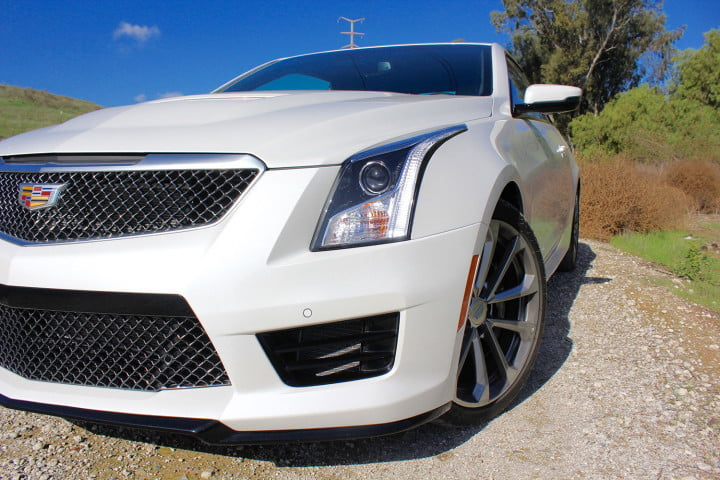 cadillac ats v coupe review back