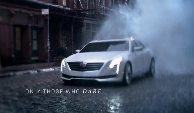 cadillac ct spotted in oscars ad