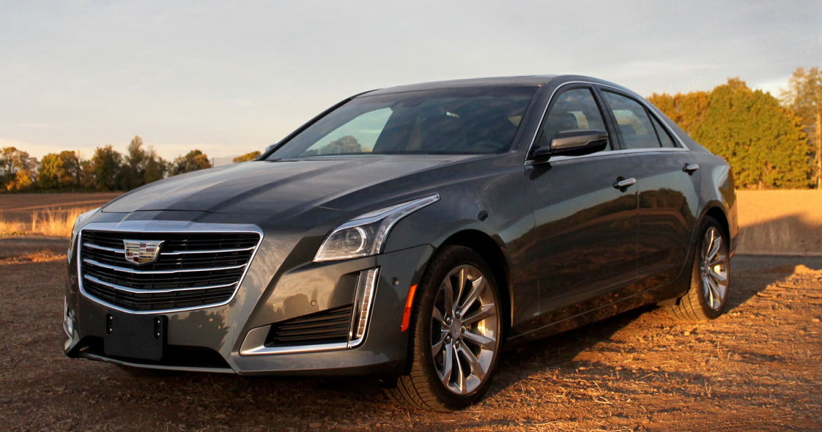 2016 Cadillac CTS Review Digital Trends