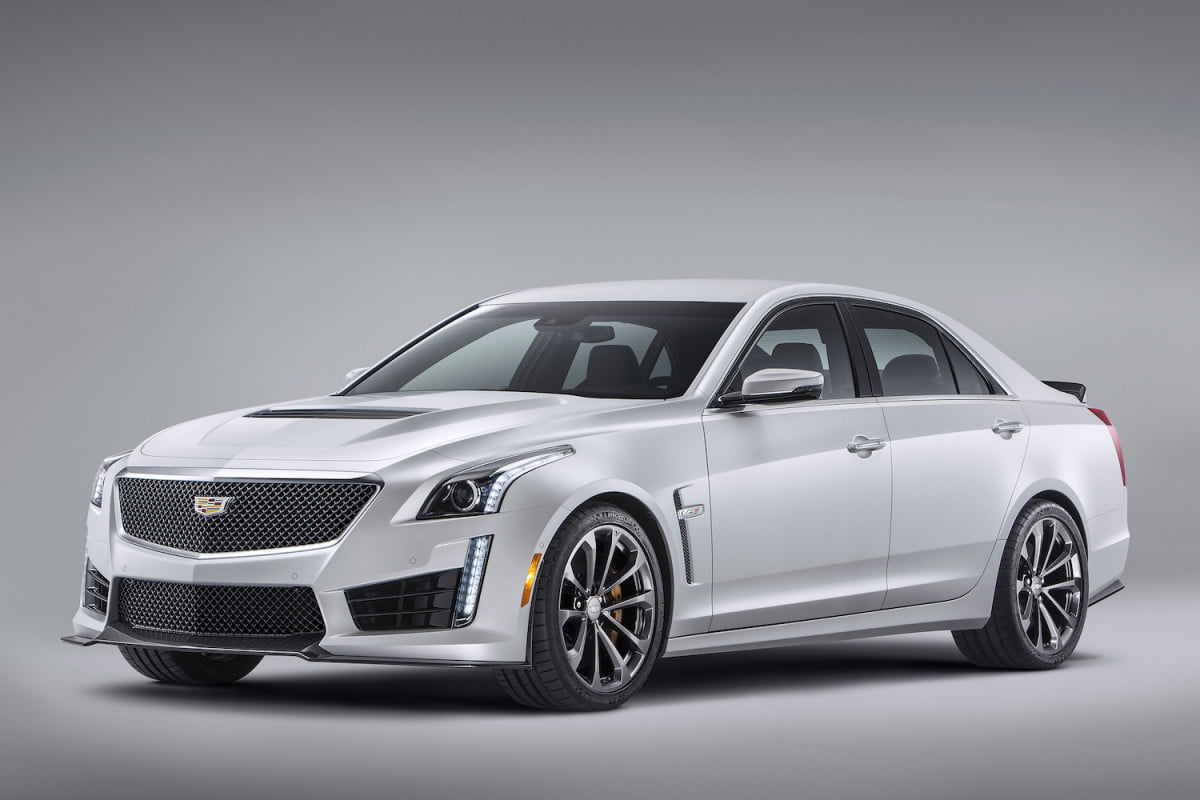 more powerful cadillac cts v specs news rumors  front angle