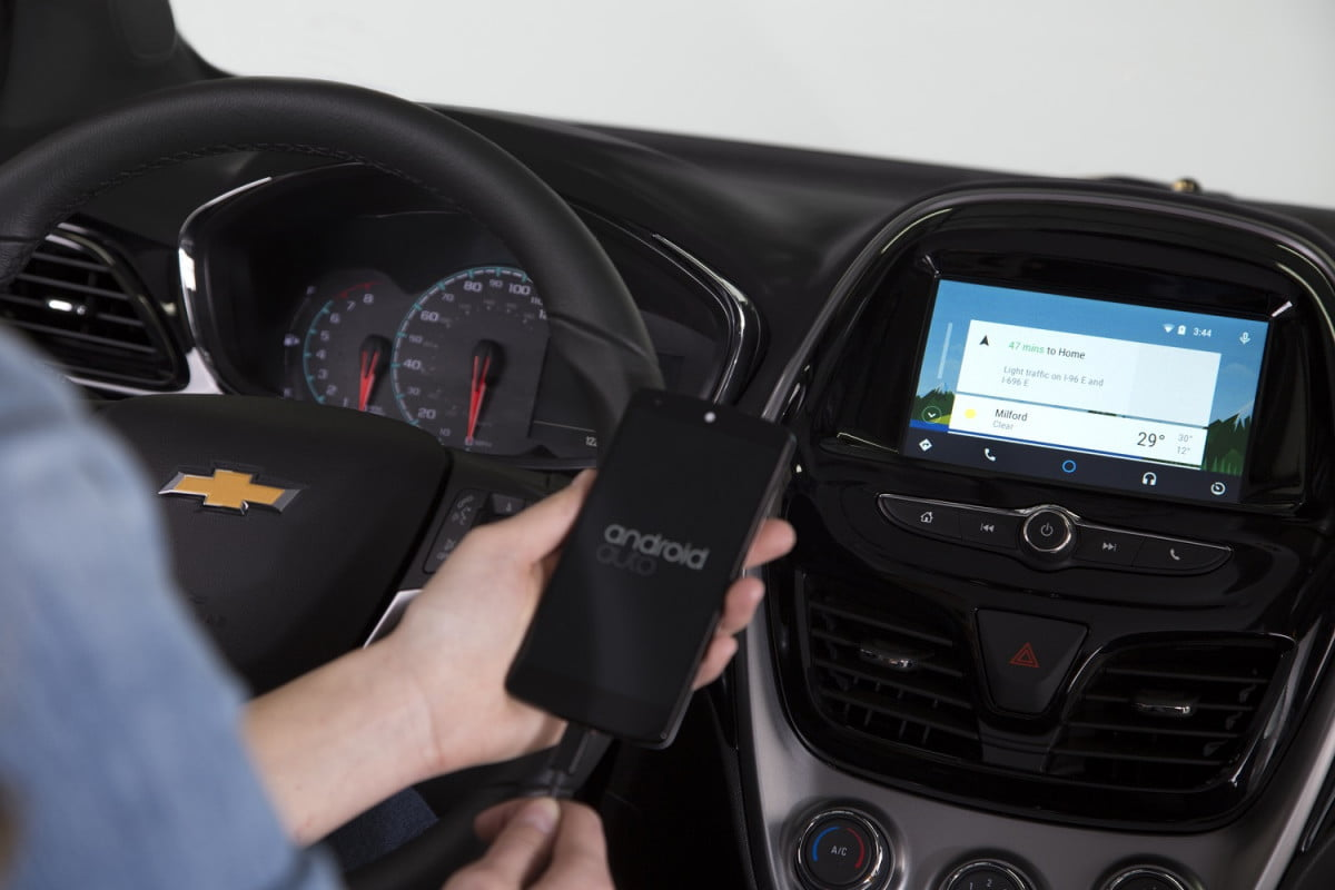 chevy will roll out android auto as a software update this spring  chevrolet spark