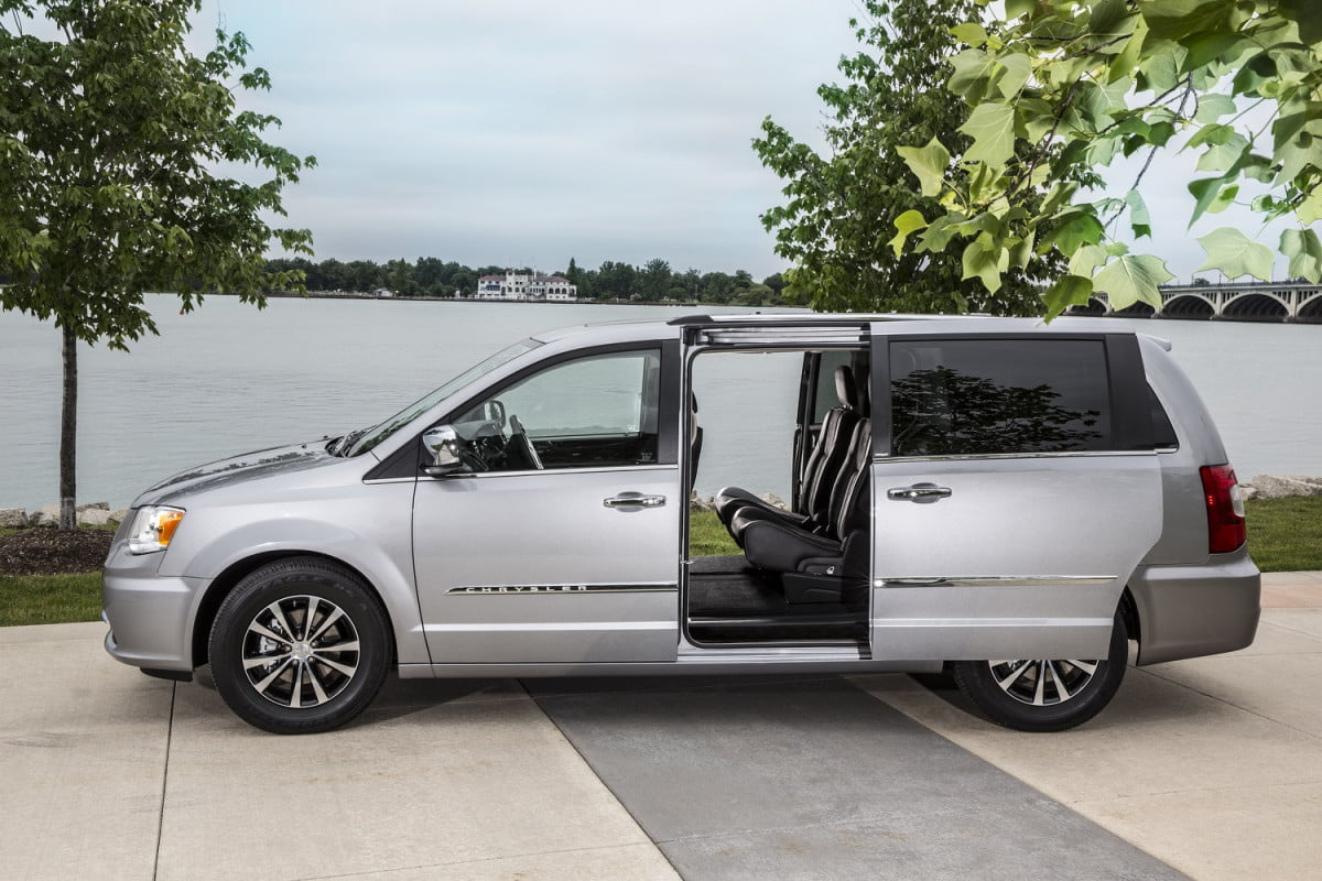 next chrysler town country minivan will have more tech  amp