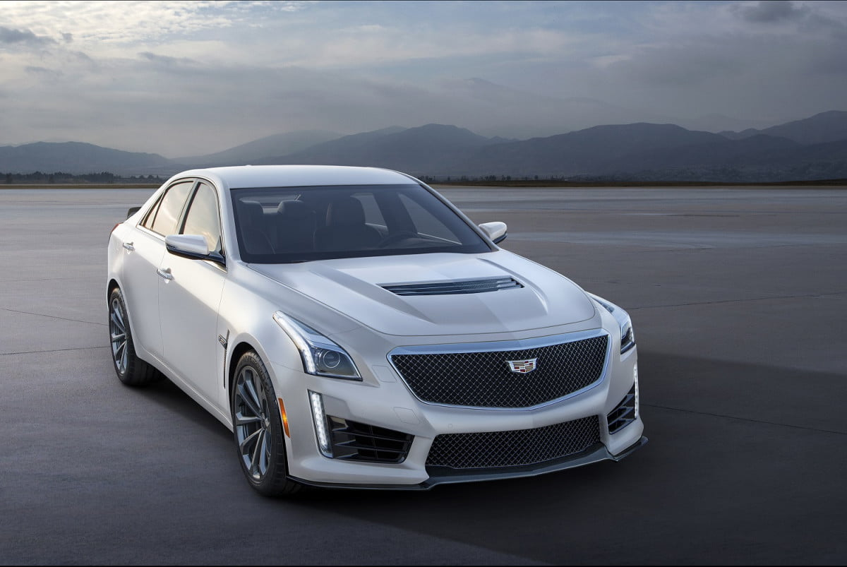 cadillac crystal white frost edition news specs pictures cts v