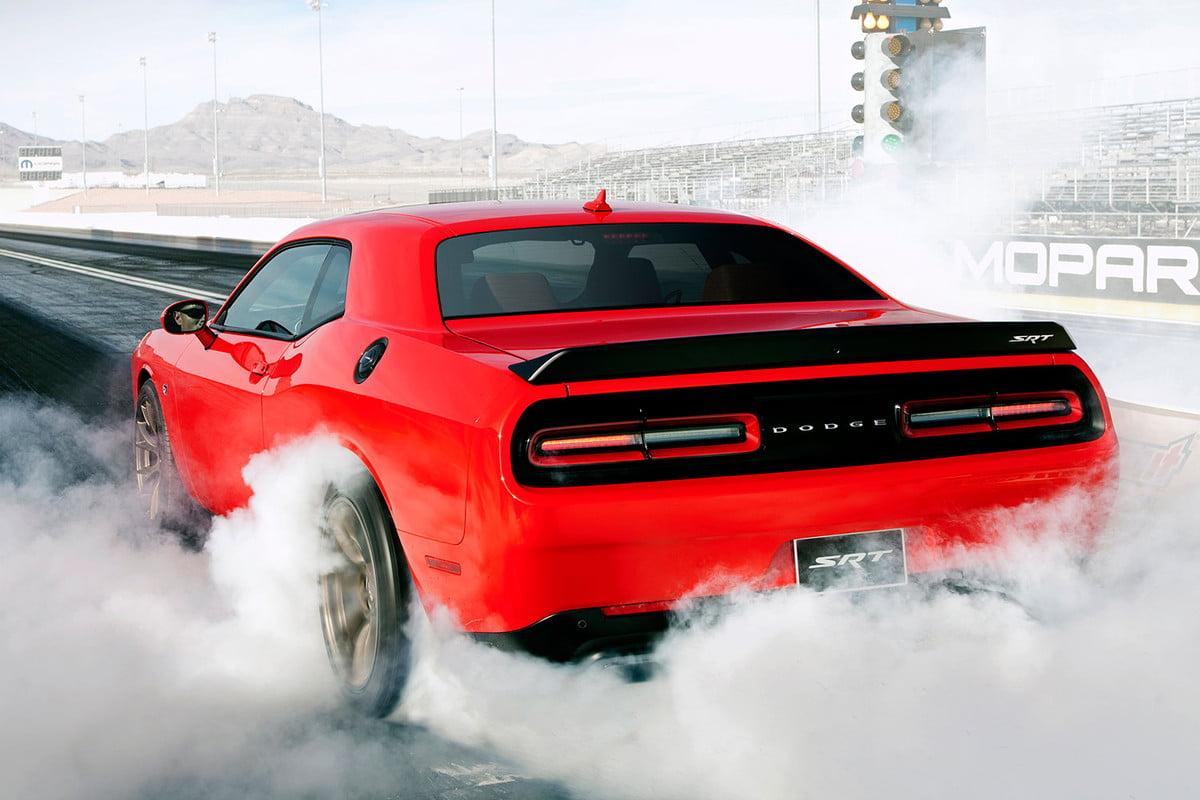 dodge hellcat why  hp news quotes report challenger srt back angle