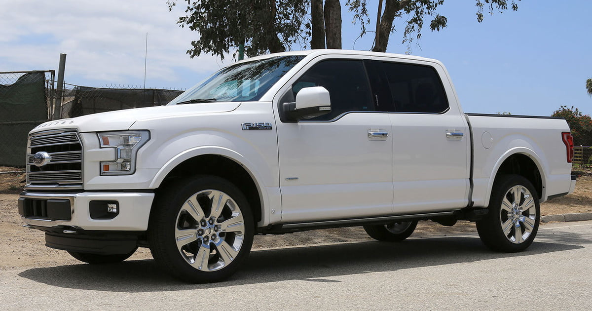 2016 ford f 150 limited 4x4 first drive impressions digital trends. Black Bedroom Furniture Sets. Home Design Ideas