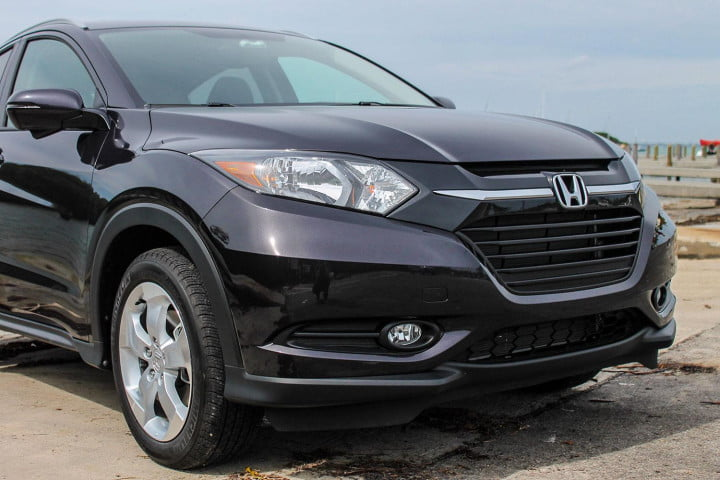 honda hr v first drive review front section left