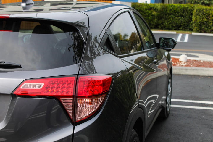 honda hr v first drive review taillight