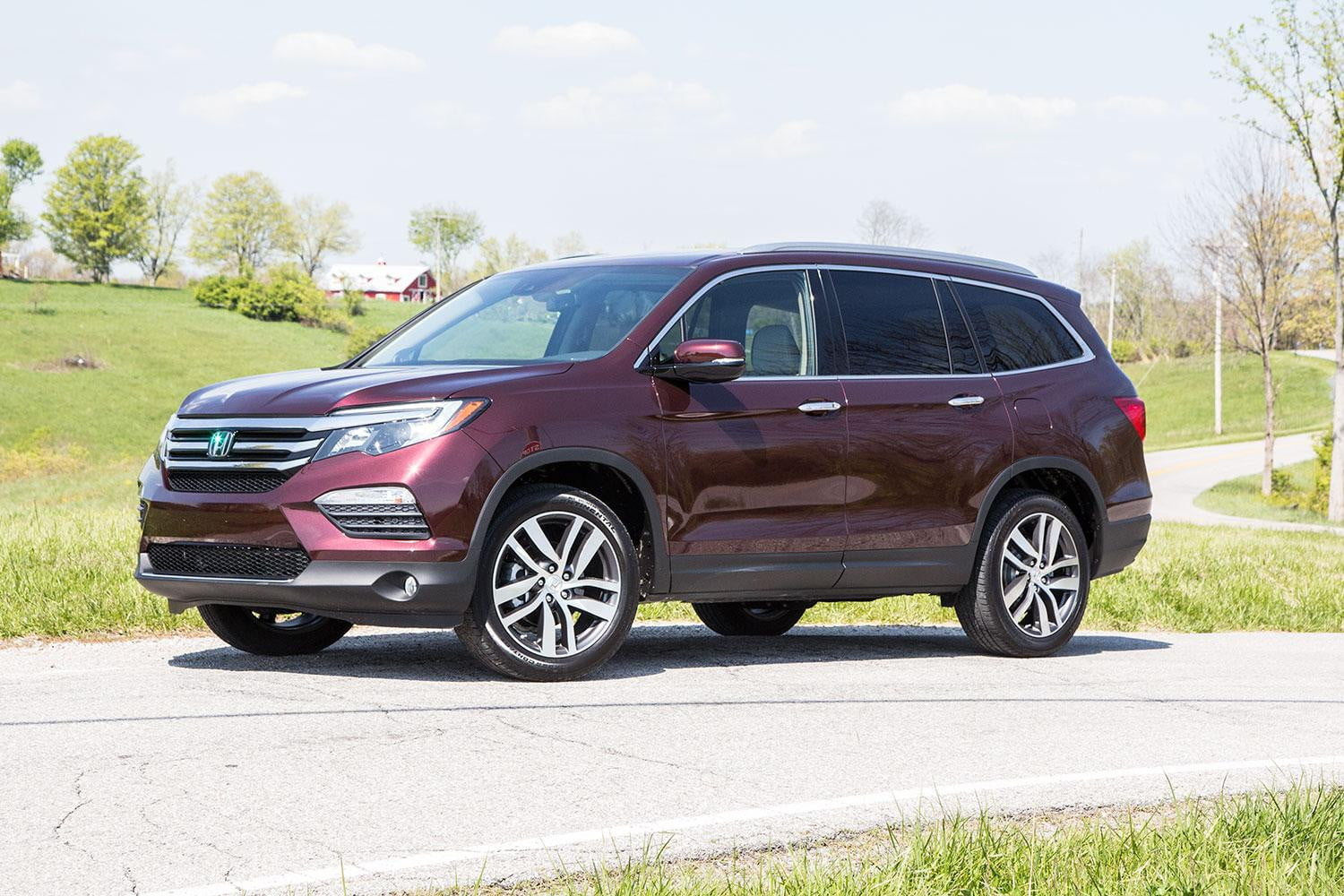 2016 honda pilot elite first drive review digital trends. Black Bedroom Furniture Sets. Home Design Ideas