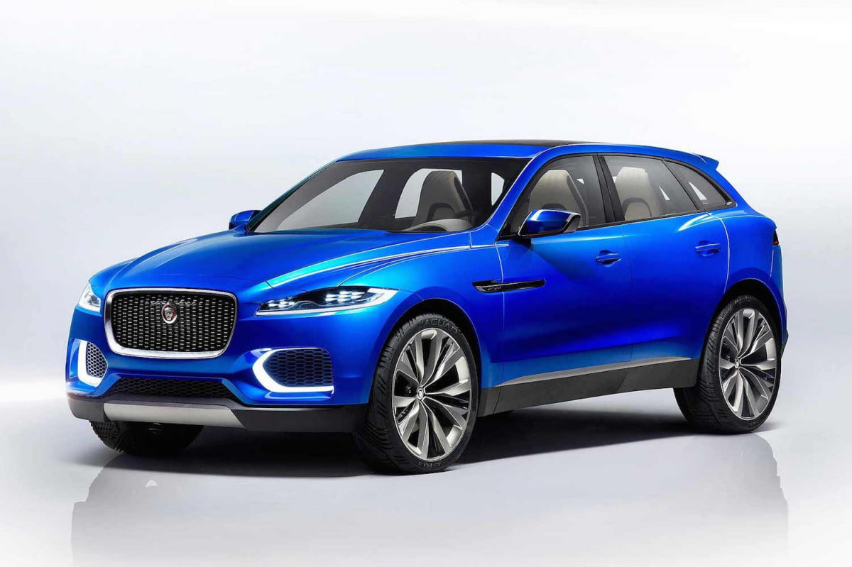 jaguar crossover family specs news rumors  c x front angle