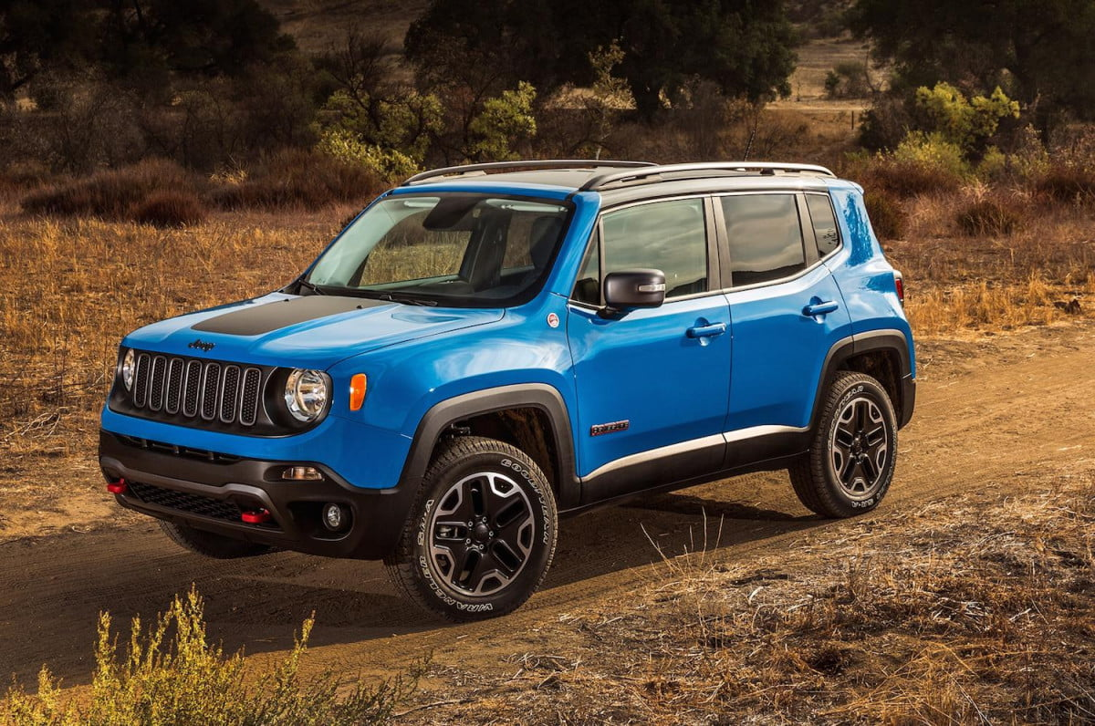 jeep renegade trackhawk specs news rumors  front angle