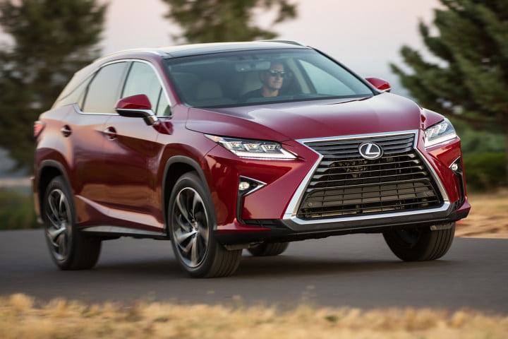 lexus rx and h first drive