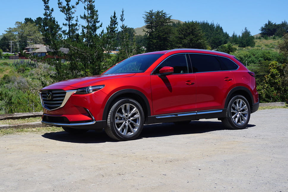 2016 Mazda Cx 9 Red 200 Interior And Exterior Images