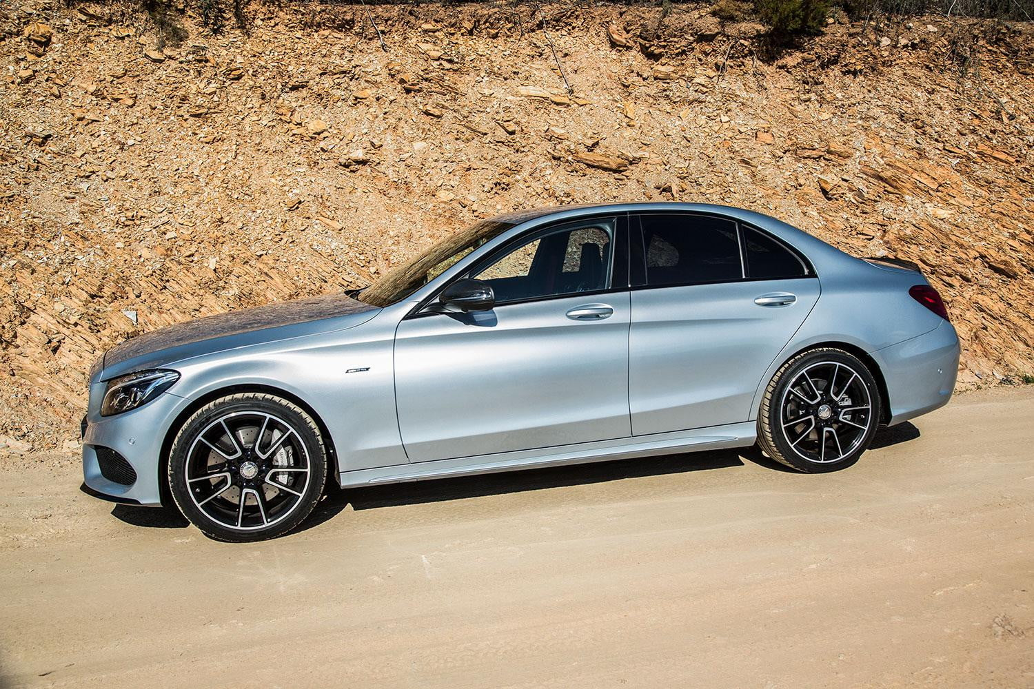 2016 mercedes benz c450 amg 4matic review digital trends for Mercedes benz c450 amg