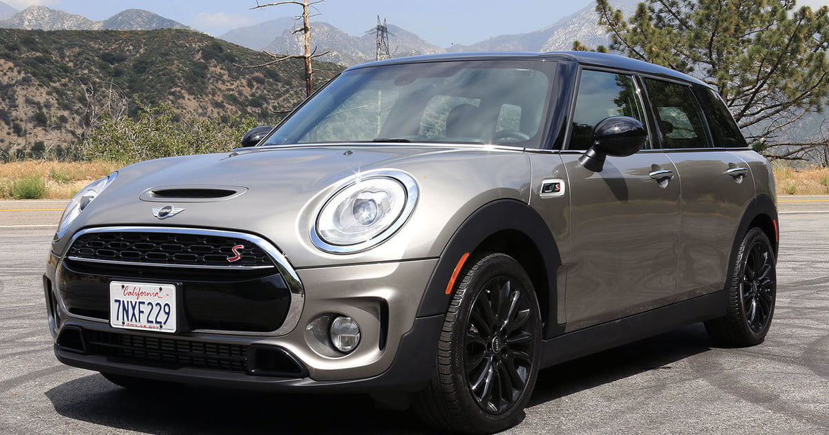 2016 mini cooper clubman s first drive digital trends. Black Bedroom Furniture Sets. Home Design Ideas