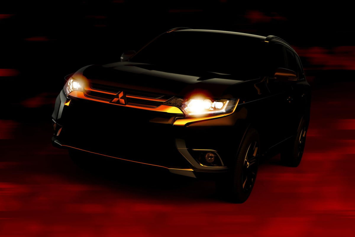 mitsubishi outlander confirmed for ny auto show teaser