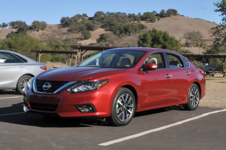 nissan altima first drive
