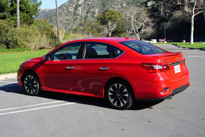 nissan sentra first drive
