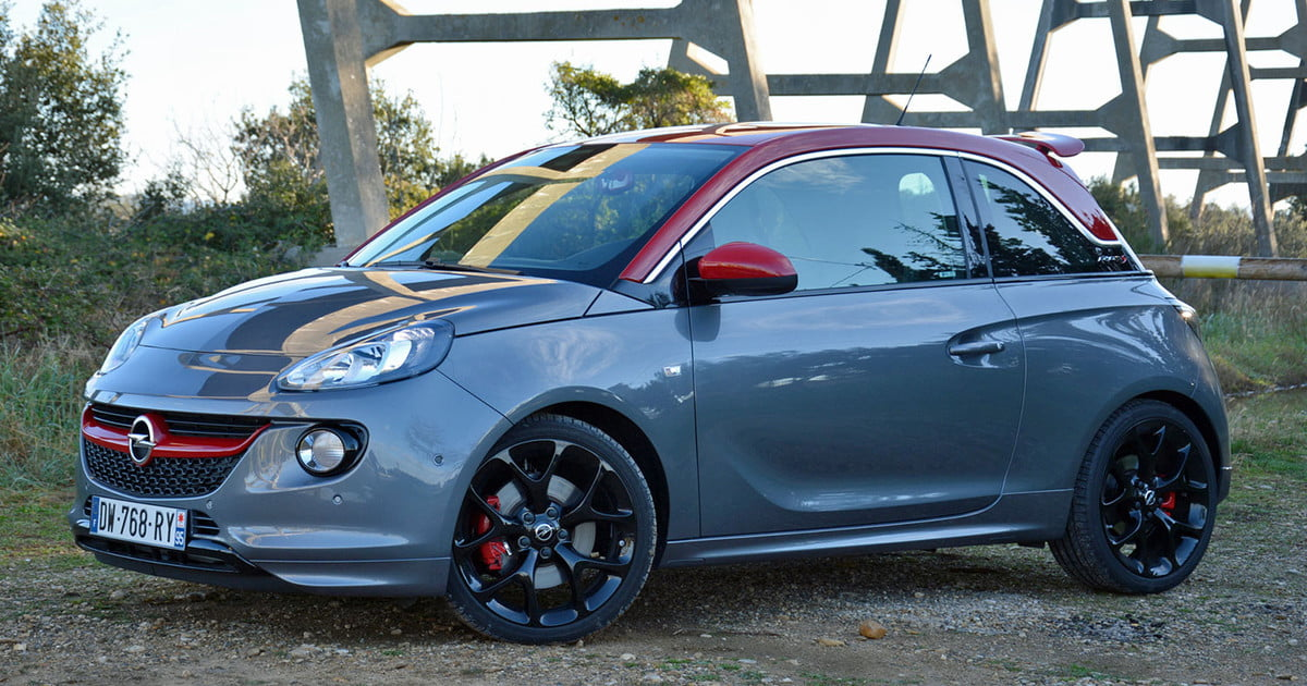 2016 opel adam s review pictures specs digital trends. Black Bedroom Furniture Sets. Home Design Ideas