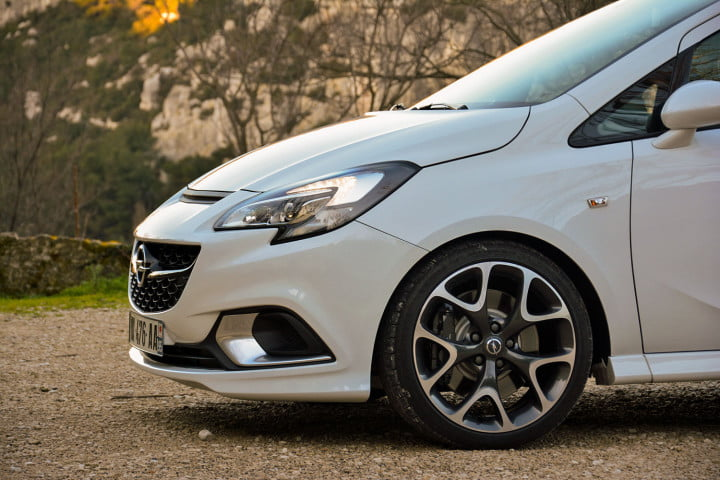 opel corsa opc first drive interior back