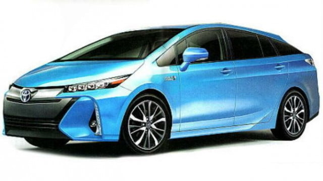 toyota prius pictures specs news rumors blue front angle