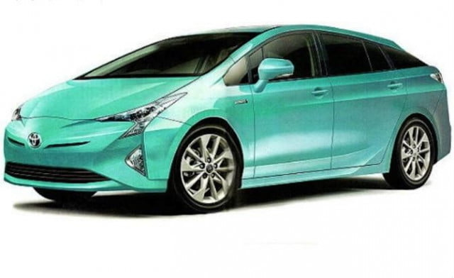 toyota prius reveal specs news rumors green front angle
