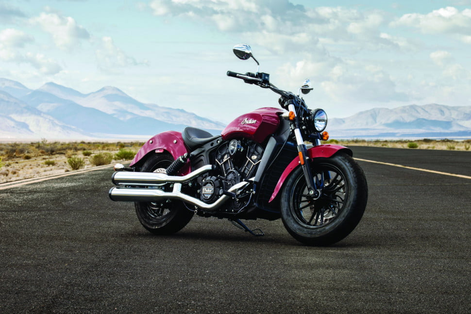 A Legend Reborn: Indian's Scout Sixty is an entry-level ode to the open road