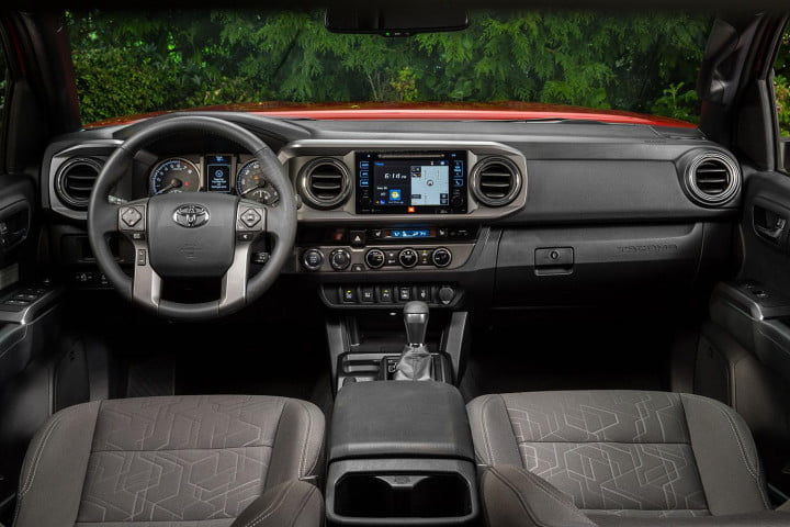 toyota tacoma trd off road first drive interior front