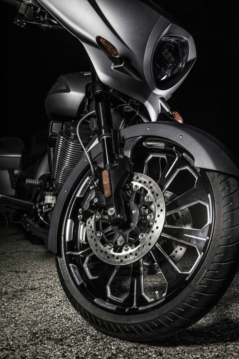 2016 Victory Magnum X-1 Stealth Edition Wheels