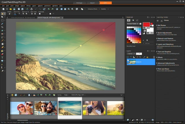 corel paintshop pro x  released c
