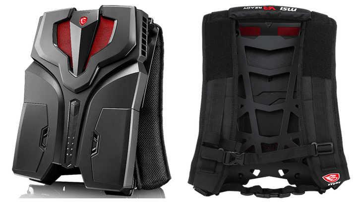 MSI VR One Backpack