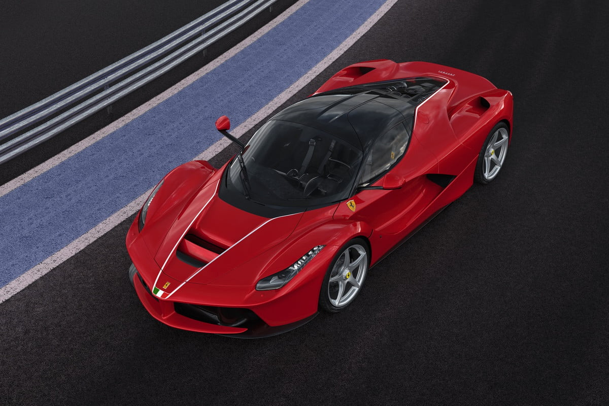 ferrari laferrari sells for  million at charity auction auctioned off earthquake