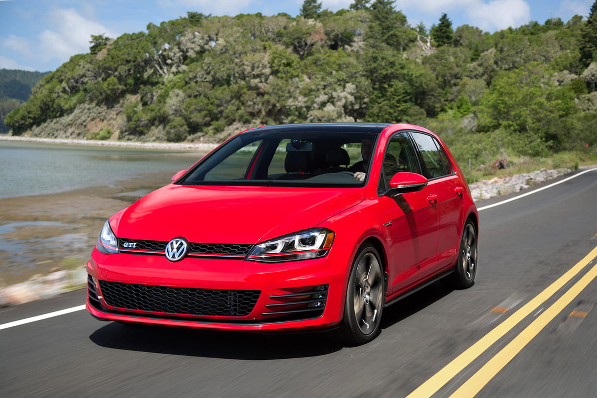 volkswagen recalls  cars for fuel leaks golf gti
