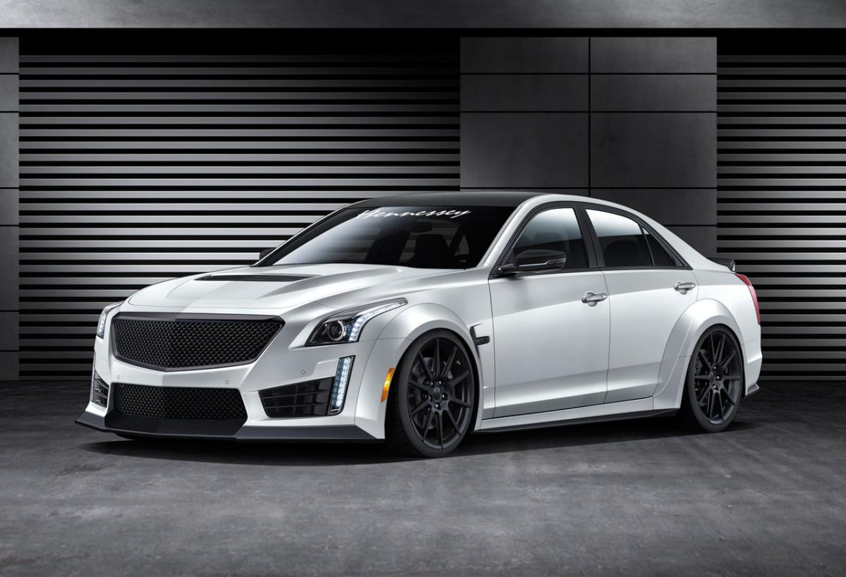 cadillac cts v hennessey hpe first details