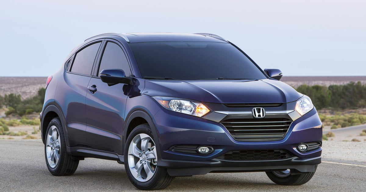 2016 honda hr v official specs and pictures la auto show. Black Bedroom Furniture Sets. Home Design Ideas